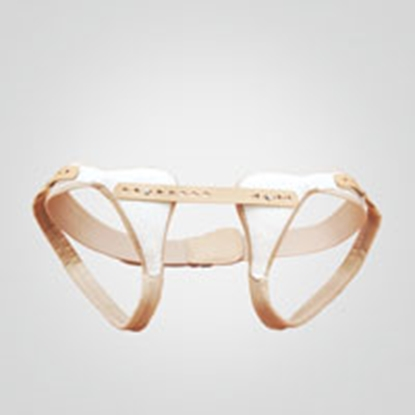 Attēls HerniaFix Elastic Spring Truss with Anatomically-Shaped Pad, Double-Sided (109800)