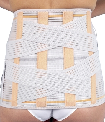Picture of Semi-rigid lumbosacral high back support (112, 212)